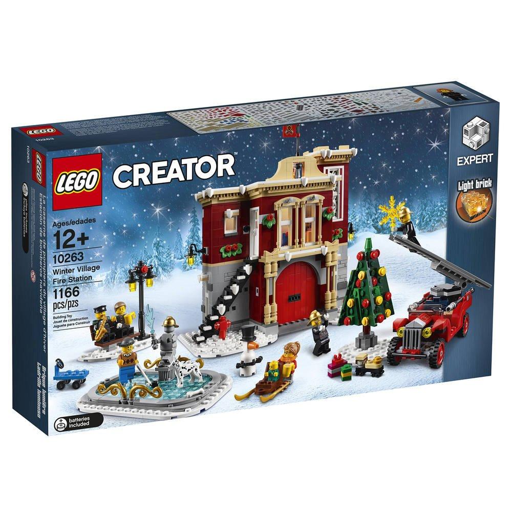 Pompiers 10263 Village D'hiverJeux Des Lego Caserne La De Du OwP8nkNZX0