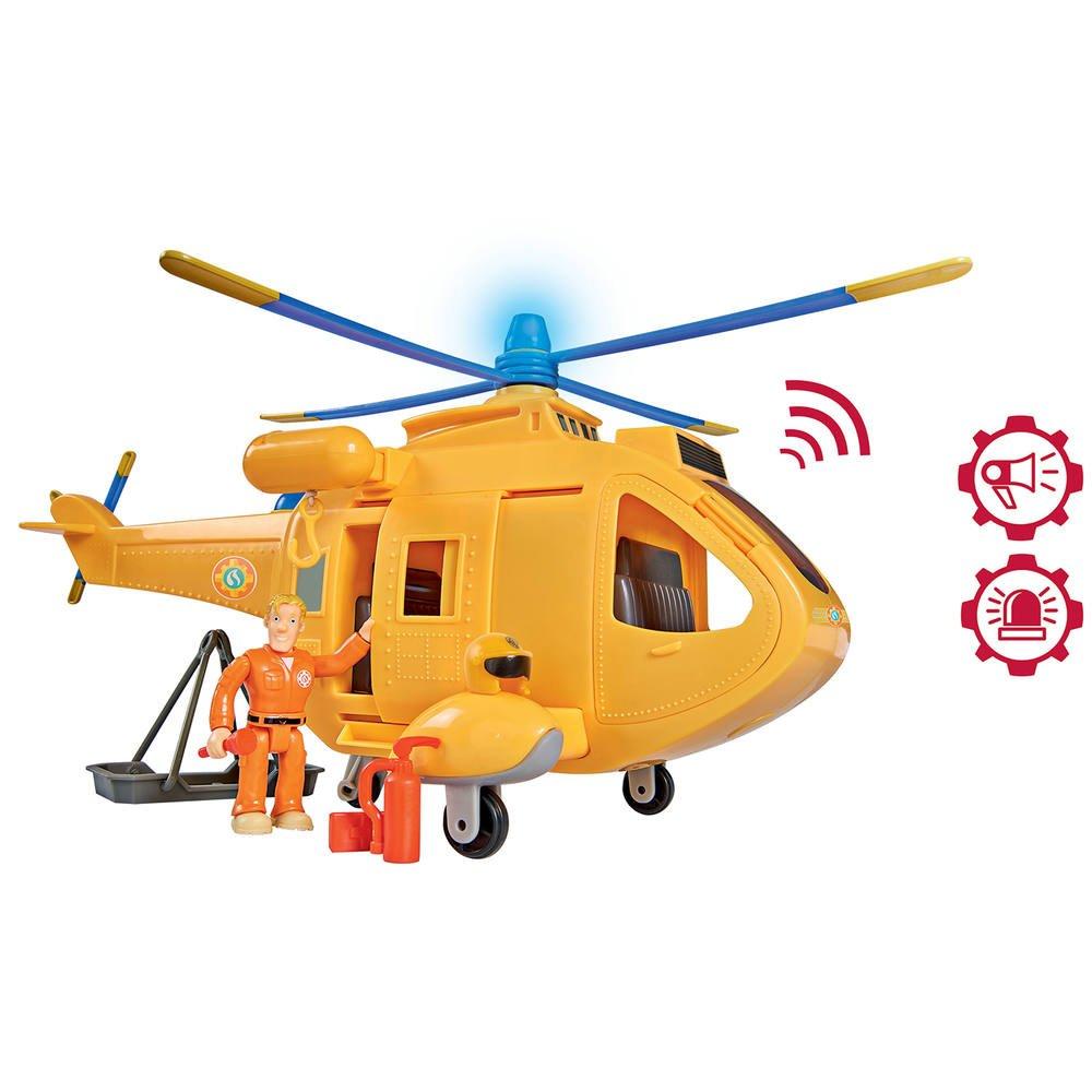 Sam Le Pompier Helicoptere Wallaby 2 Et Sam Vehicules Garages Joueclub