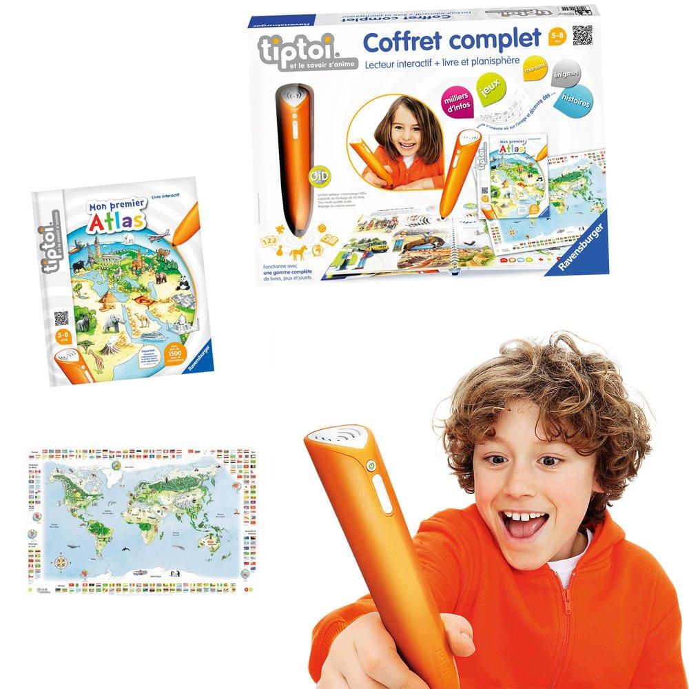 Tiptoi Coffret Complet Livre Atlas Planisphere Jeux