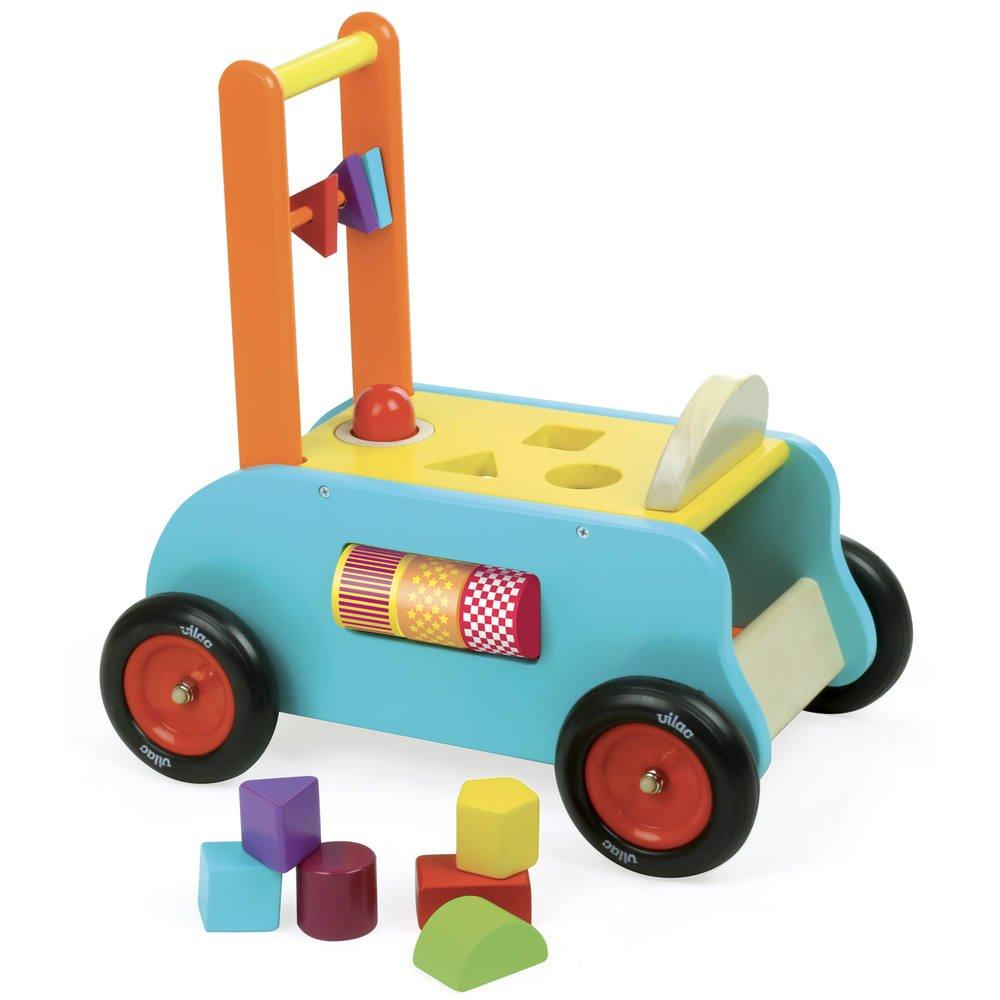 chariot en bois bébé jouet club