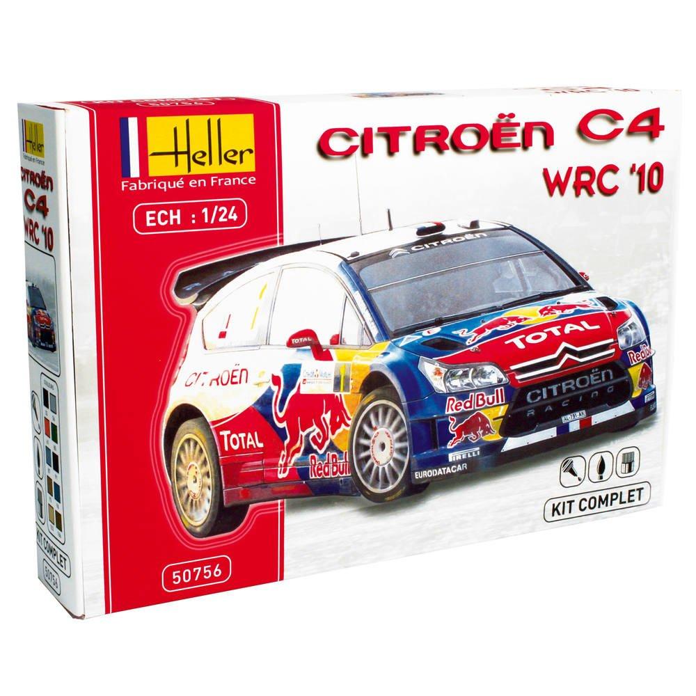 Heller Kit Citroen C4 Wrc 1 24e Jeux De Constructions Maquettes