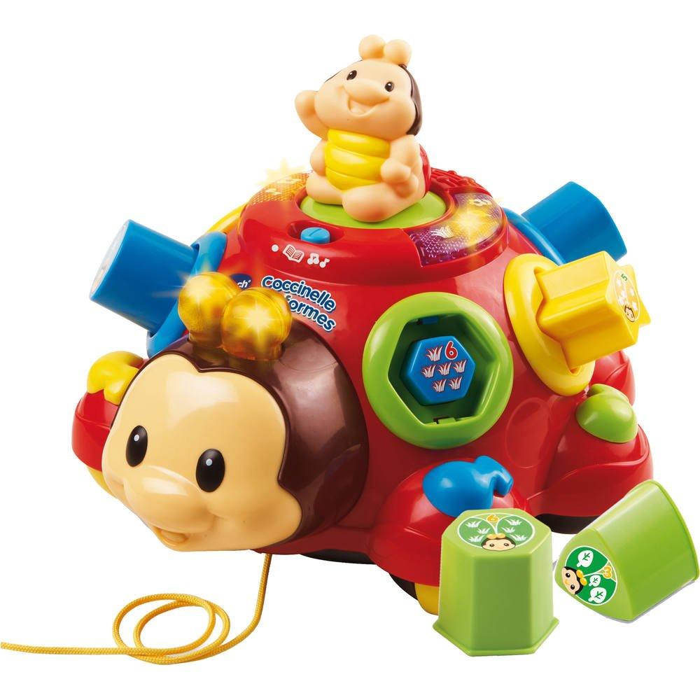 Coccinelle des formes   jouets 1er age  