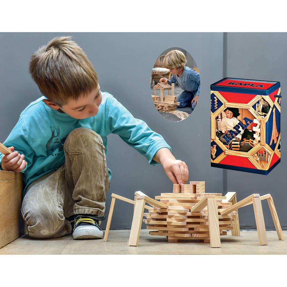 bloc de construction en bois jouet club