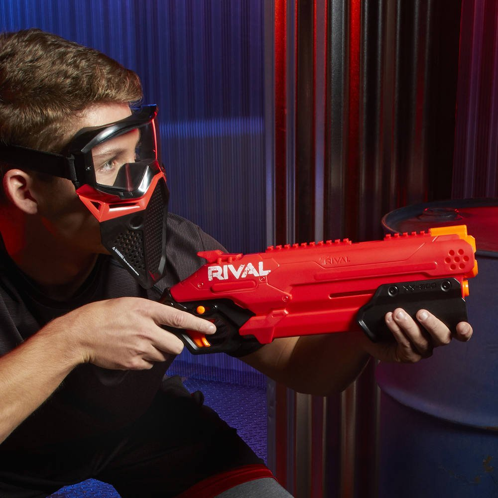 Nerf Rival Takedown XX-800 rouge et Billes en Mousse Nerf Rival Officielles