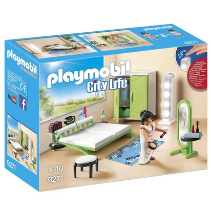 CHAMBRE AVEC ESPACE MAQUILLAGE   9271 PLAYMOBIL® Ref : 04046864