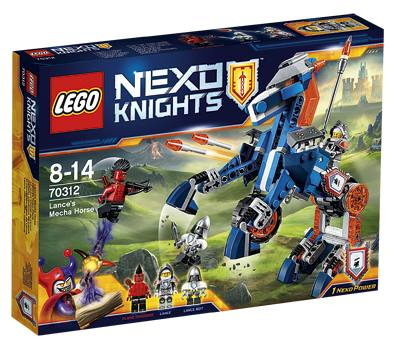 Mega Lance Le Cheval Knights 70312 De Lego Nexo Fl1JKcT
