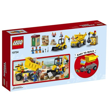 Lego De Demolition 10734 Chantier Le CeWxoBrd