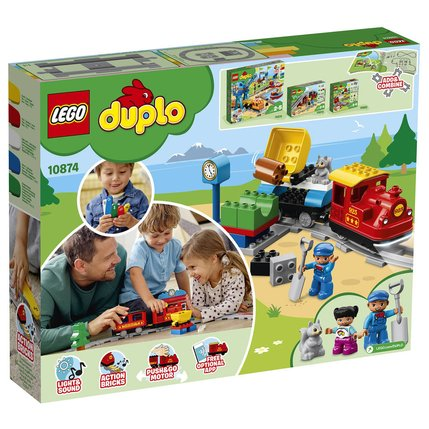10874 A Train Vapeur Le Duplo Lego kXuiPOZ